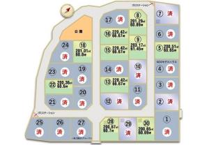 蔵波 区画図(2020.03.02)