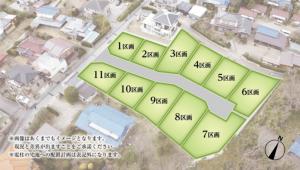 区画図【ドリームシティ長須賀】